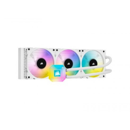 CORSAIR iCUE H150i ELITE CAPELLIX Liquid CPU Cooler - Λευκό