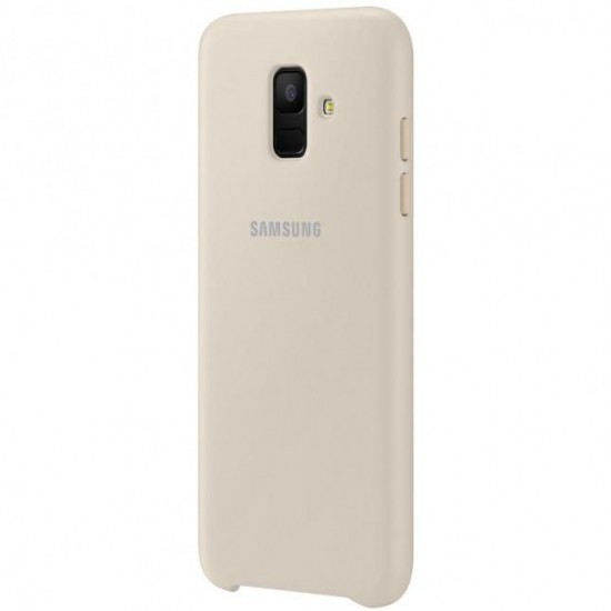 Samsung  A6 Plus 2018 A605 Dual Layer Cover EF-PA605CFE Gold