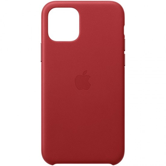 Apple  iPhone 11 Pro Leather Case MWYF2ZM/A Red