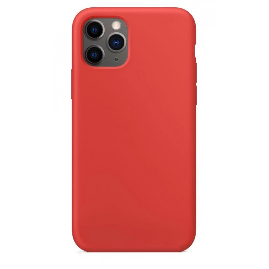 Connect Apple iPhone 11 Pro Max Soft Case with bottom Red