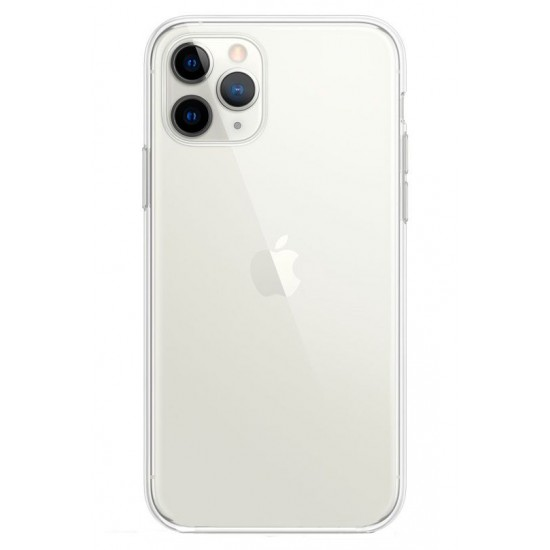 Connect Apple iPhone 11 Pro Transparent case + tempered glass