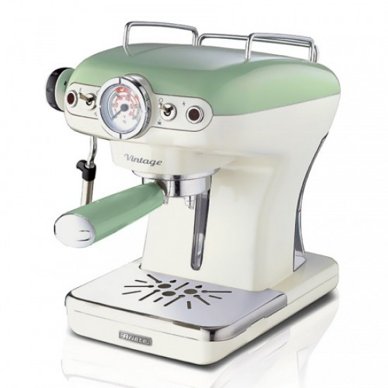 ARIETE 1389/14 GREEN ESPRESSO MACHINE VINTAGE
