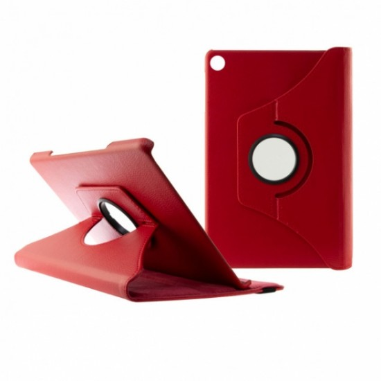 CONTACT 360 TABLET CASE FOR SAMSUNG TAB A 10.5' 2018 red