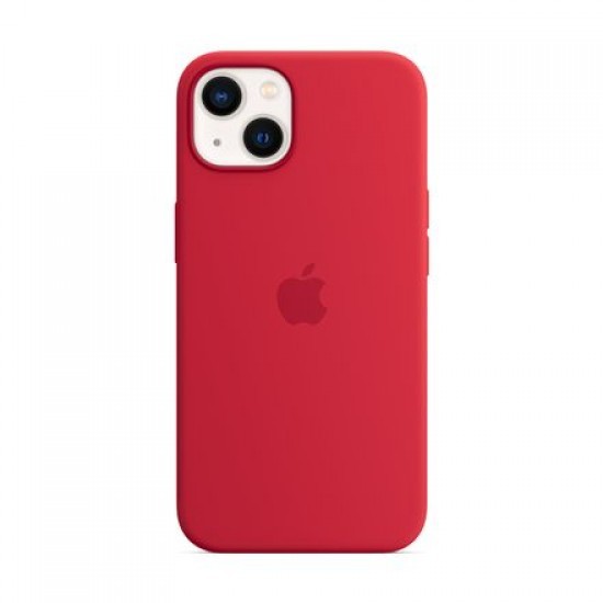 Apple  iPhone 13 Silicone Case with MagSafe (PRODUCT) Red