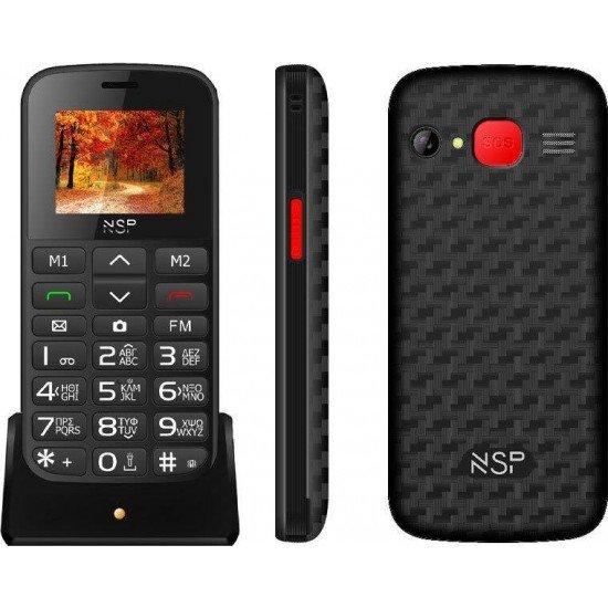 NSP 2000DS Dual Sim 32MB/32MB Black