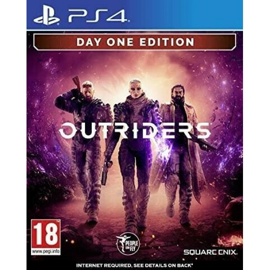Outriders Deluxe Day 1 Edition PS4